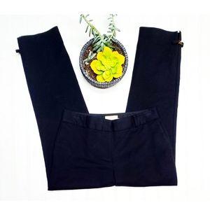 🎉Kate Spade Jackie Bow Black Cropped Trouser Pant